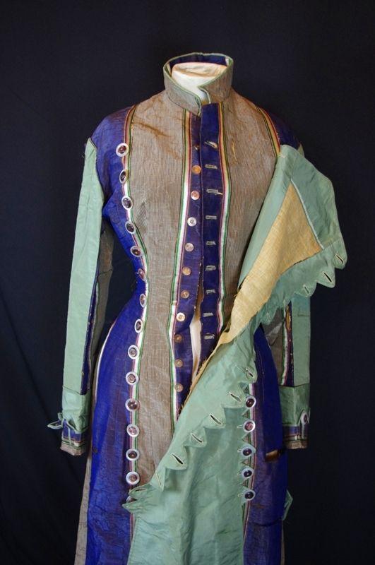 Princess Line Day Dress c. 1878