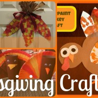 Lily & Frog Friday 5: 5 Easy Toddler Thanksgiving Arts N' Crafts