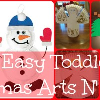Lily & Frog Friday 5: 5 Easy Toddler Christmas Arts N' Crafts