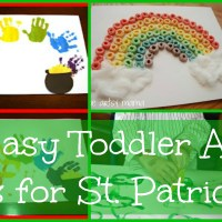 Lily & Frog Friday 5: 5 Easy Toddler Arts N' Crafts for St. Patrick's Day