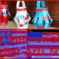 Lily & Frog Friday 5: 5 Easy Memorial Day Toddler Arts N' Crafts