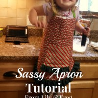 Sassy Apron Tutorial