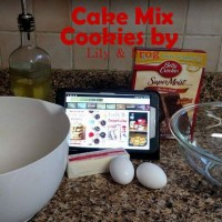 Cookies from a Cake Mix