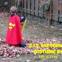 DIY Superman Halloween Costume