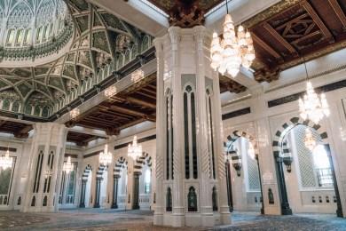 Main Prayer Room Sultan Qaboos Grand Mosuqe Muscat