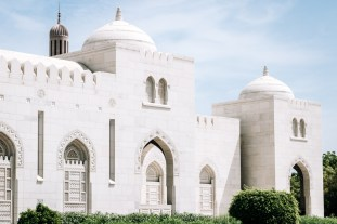 Sultan Qaboos Grand Mosuqe Muscat