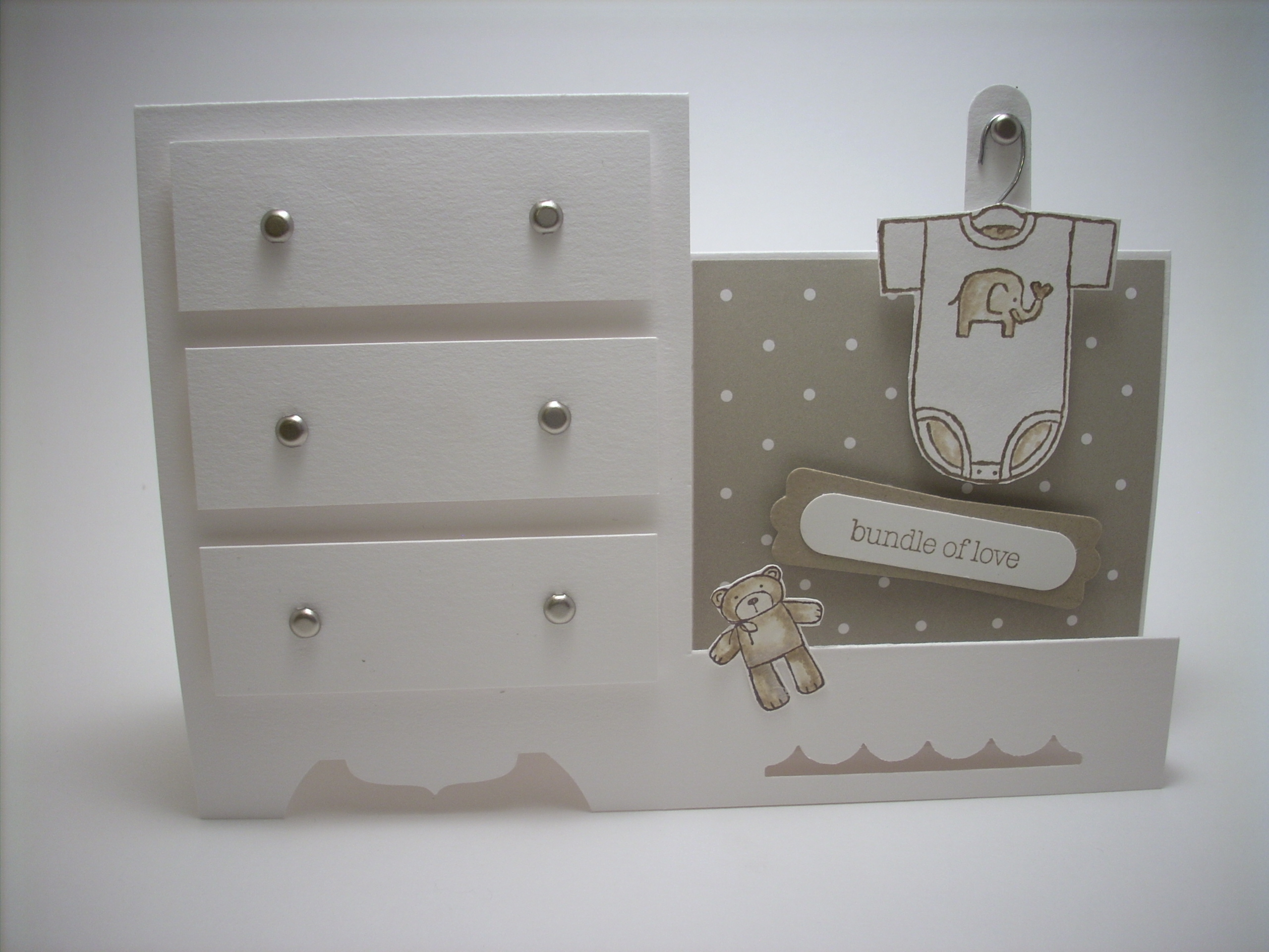 Baby Dresser Card Lily By Gilly