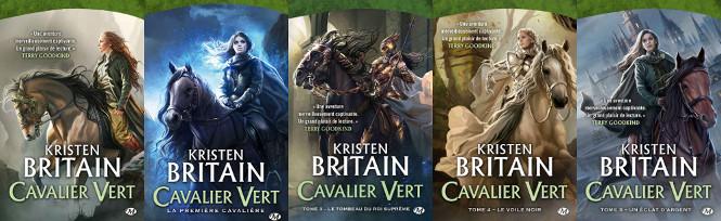 La série: Cavalier Vert (les 5 premiers tomes)