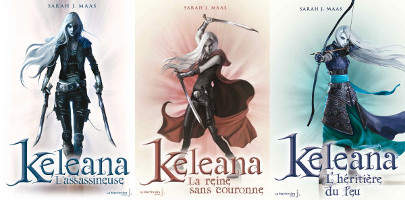 Keleana, tome 1, 2 et 3