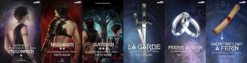 La trilogie: Les chroniques de Ren