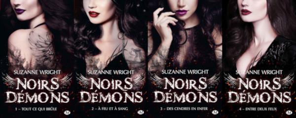 La série Noirs Démons