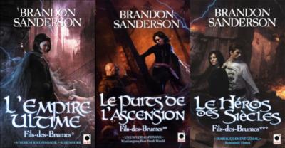 Fils-des-Brumes de Brandon Sanderson (le premier cycle)