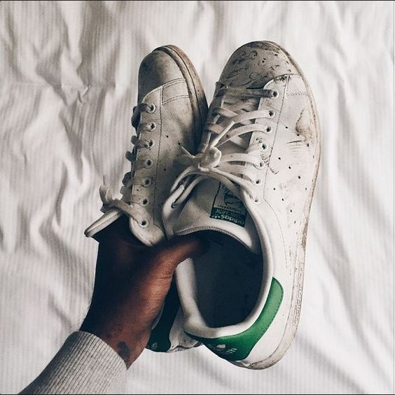 Au Nettoyer Ses Stan Et Smith Blanchir Converse Naturel 29IEWDHY