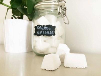réalisations de tablettes lave vaisselle après les ateliers de Gen