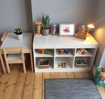 salle de jeux minimaliste