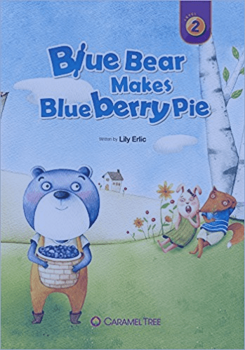 Blue Bear Makes Blueberry Pie