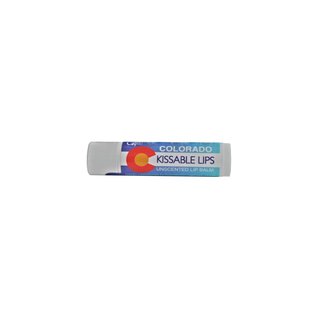 Colorado Kissable Lips Unscented Lip Balm