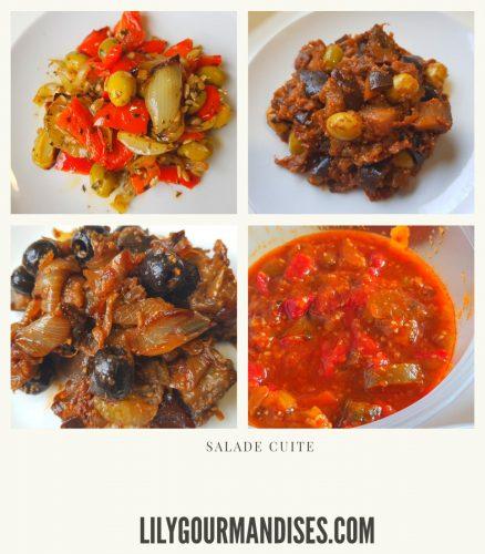 Salades de chabbat lilygourmandises