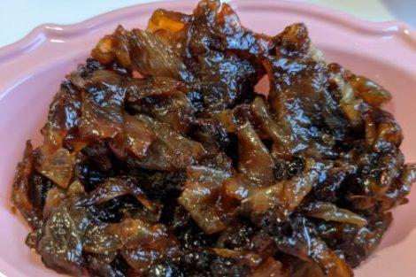 confit d'oignons recette simple lilygourmandises