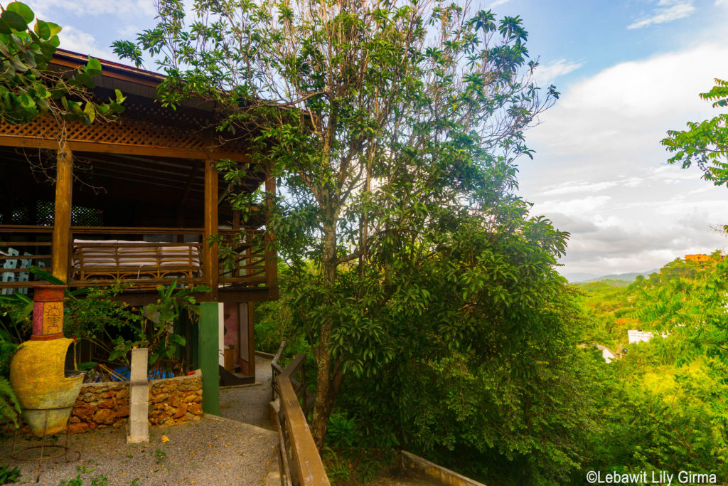 Cabin at Clave Verde Ecolodge in Samana, Dominican Republic.