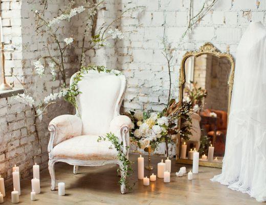matrimonio stile vintage abito da sposa