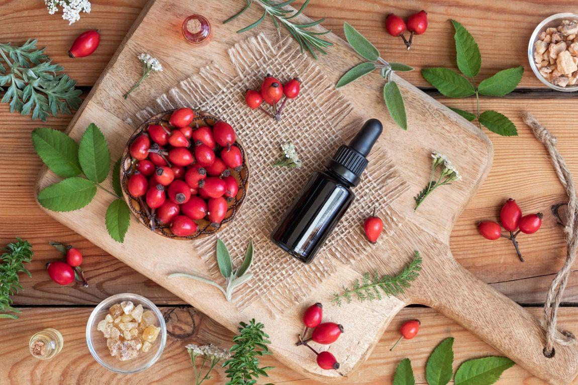 olio di rosa mosqueta benefici pelle capelli