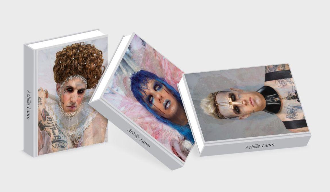 Achille Lauro_Cover Lenticolare-libro oggetto