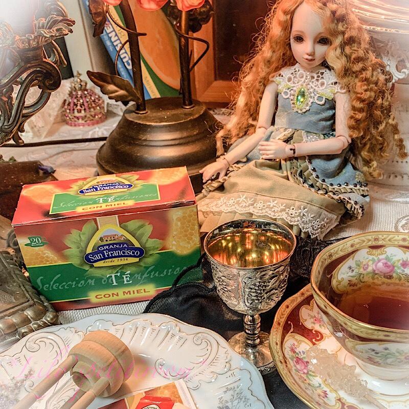 "*TeaRepo*「スペインから""スペイン式はちみつ紅茶を♪""」"