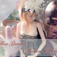 "*DOLL'S BOX GARDEN* "" PRAT.5  Maria& Theresia """