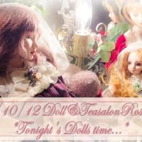 [2020/10/12] TONIGHT'S DOLLS TIME