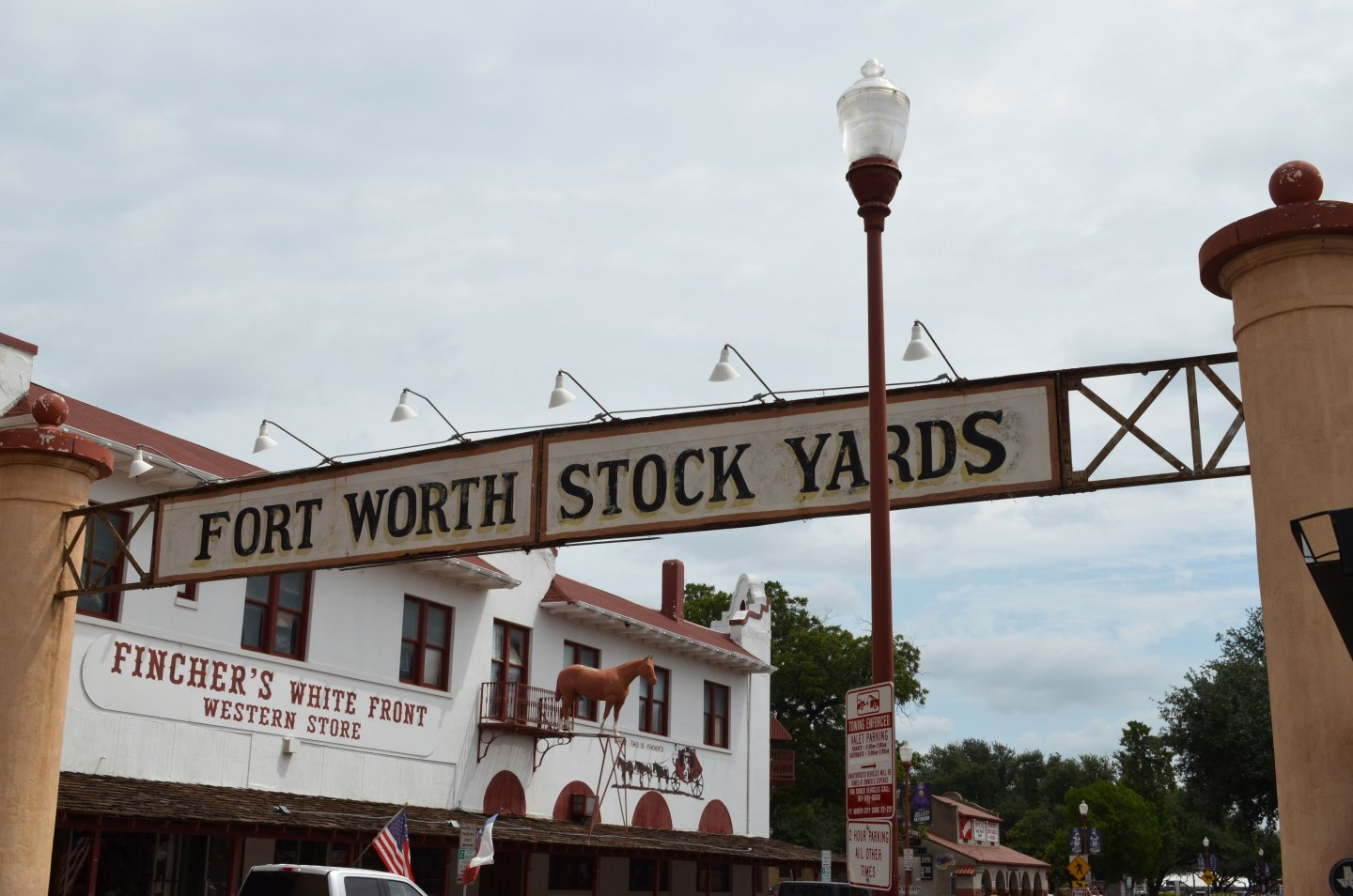 American coast to coast Fort Worth Stockyards