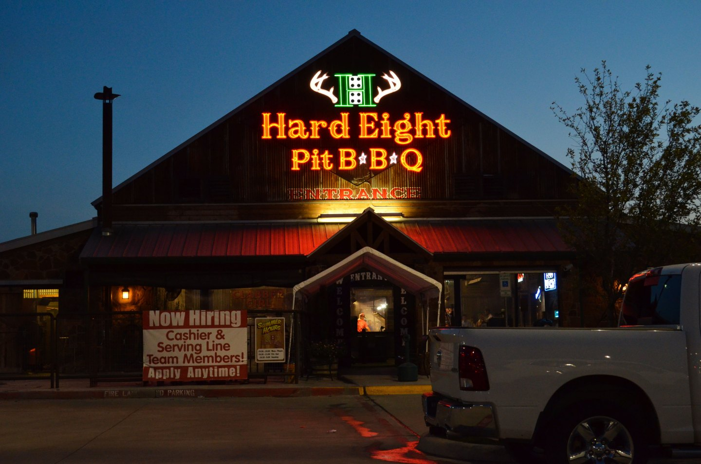 American coast to coast Hard Eight Pit BBQ Coppell