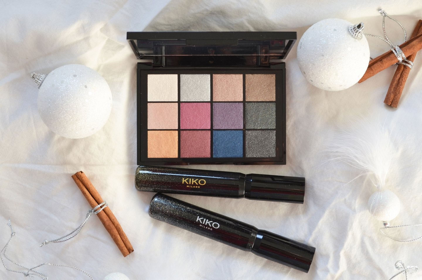 KIKO SMART CULT EYESHADOW PALETTE REVIEW | BEAUTY CLOSE UP