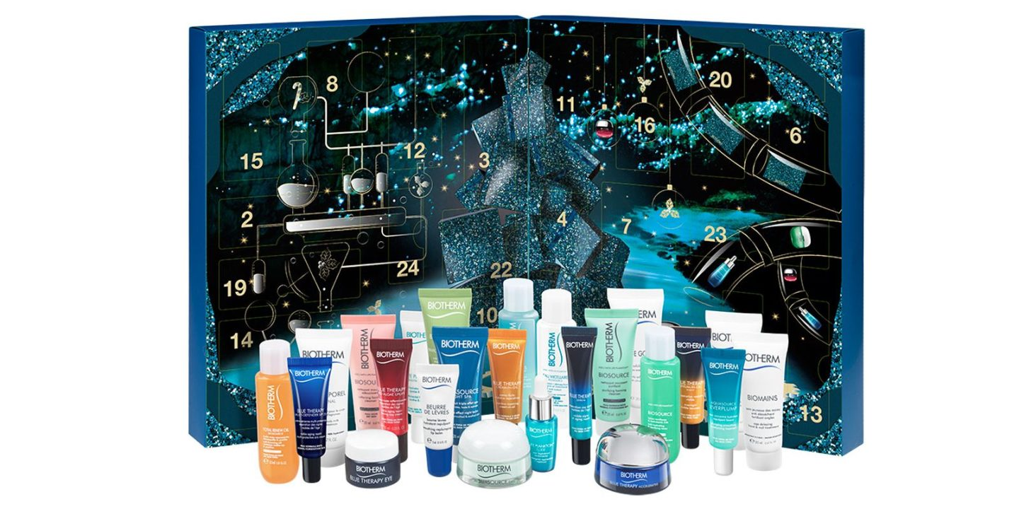 LAST MINUTE 2019 BEAUTY ADVENT CALENDARS - BIOTHERM 24 LUXURIES ADVENT CALENDAR
