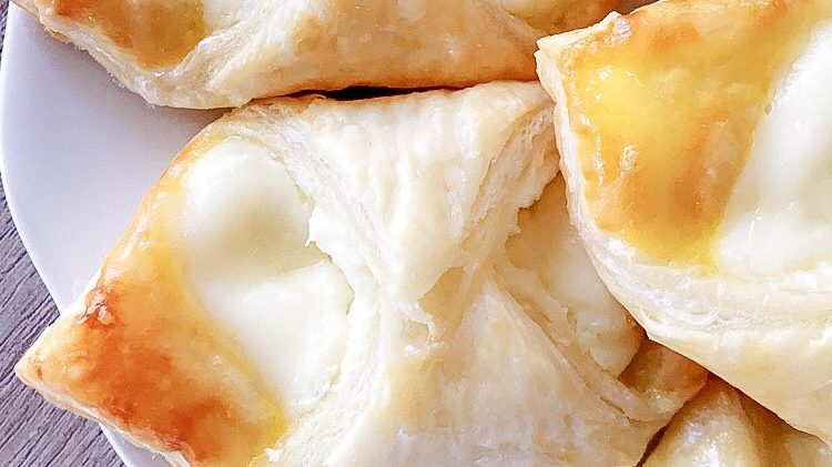 Cream Cheese Danish with Lemon Glaze