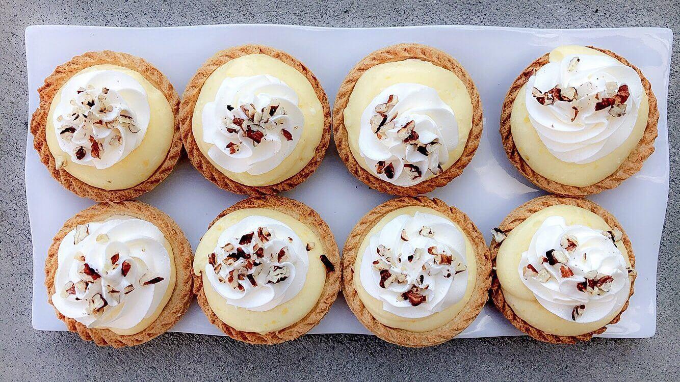 Banana Cream Pie Mini Tarts