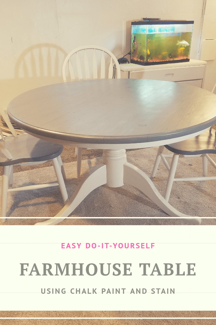 Awe Inspiring How To Stain A Kitchen Table And Chairs Lily Sparkle Complete Home Design Collection Epsylindsey Bellcom