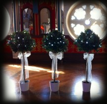 4ft Bay tree hire, wedding, Glasgow - Lily Special Events