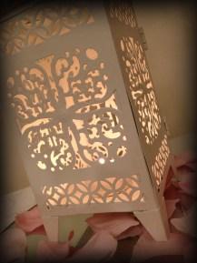 Moroccan Lantern wedding wedding centrepiece, Glasgow - Lily Special Events