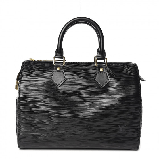 Louis Vuitton Epi Speedy 25 Black