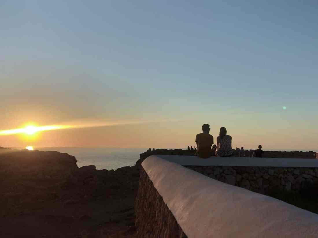 Minorque sunset - phare punta nati (4)