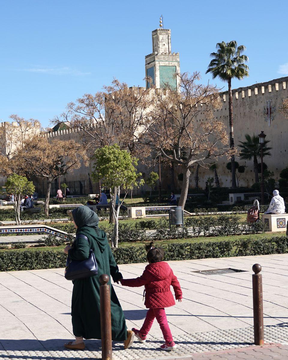 Le Maroc en van - Meknès