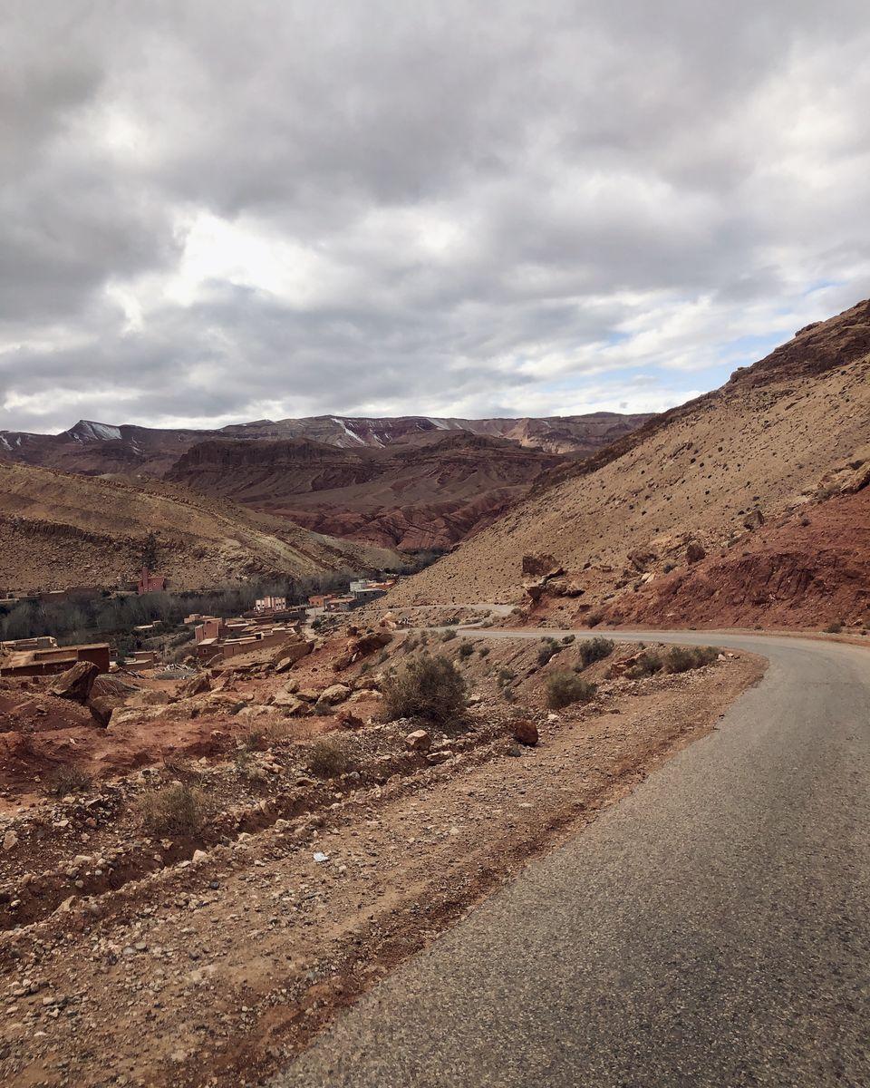 le Maroc en van - la vallée des roses (1)
