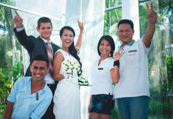 Lily Wedding Services Team