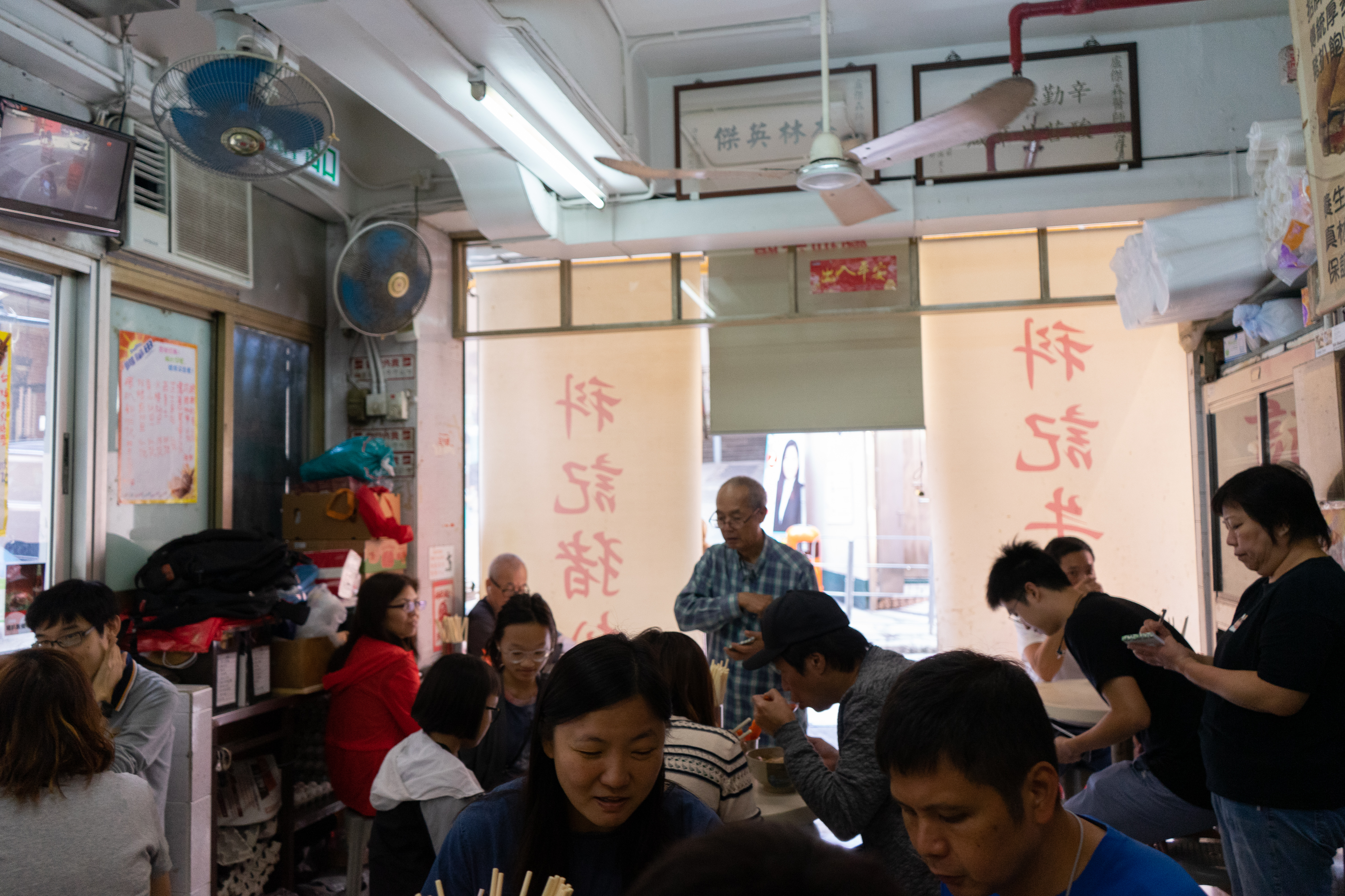 the interior of For Kee Restaurant in Sheung Wan as one of the best local foods in Sheung Wan