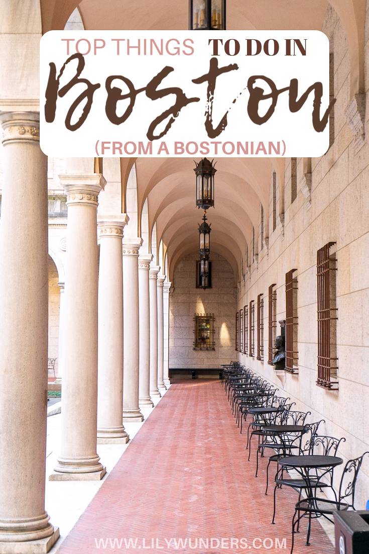 Top Things to do in Boston Pinterest