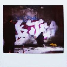 Graffiti In Alatini Factory 2011