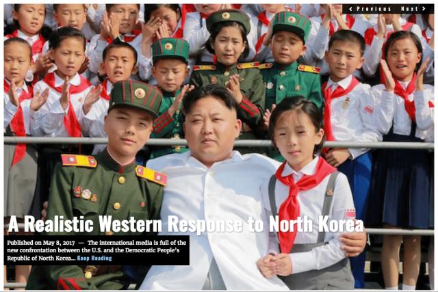 Image Lima Charlie News headline Korea May 8, 0217