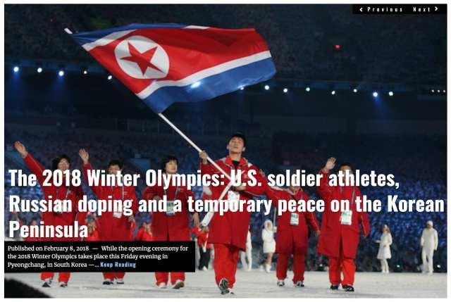 Image Lima Charlie News Headline Winter Olympics FEB 8 2018