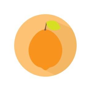 Flat icon - Limão 01